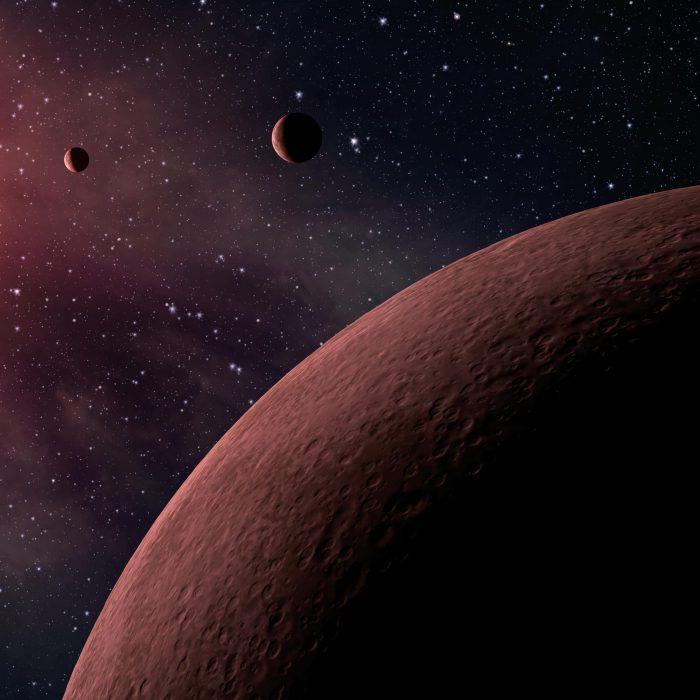 Hallan un nuevo sistema planetario extrasolar