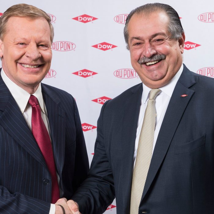 DuPont y Dow: dos gigantes se fusionan