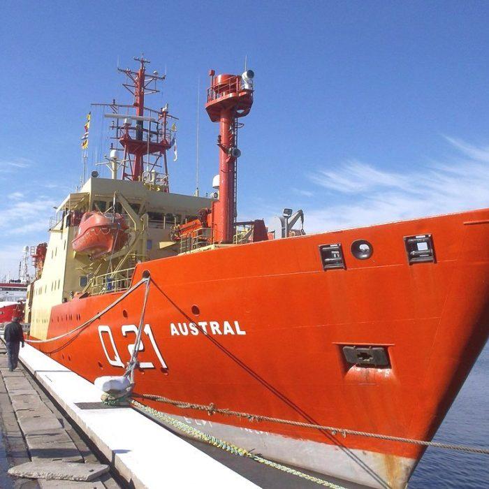 Buque Austral inicia campaña de prospección geológica en la Plataforma Argentina