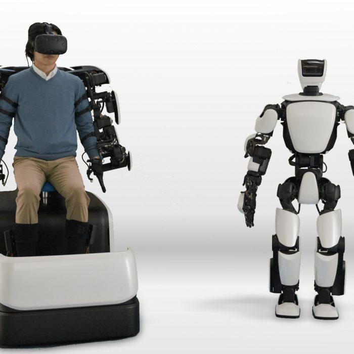 Toyota presentó la tercera generación de robots humanoides