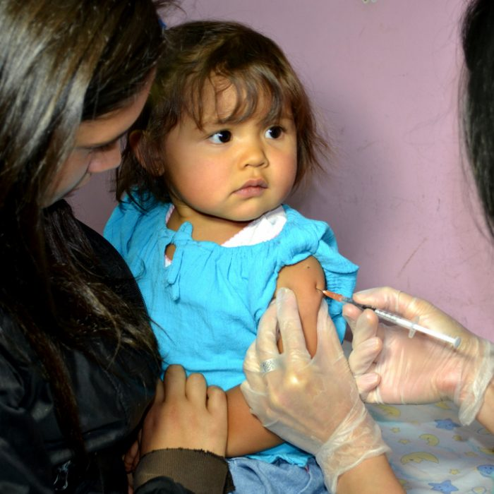 Vacunación contra el sarampión ante casos autóctonos
