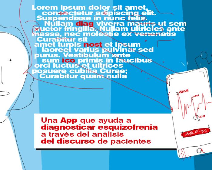 App ayuda a diagnosticar esquizofrenia a través del análisis del discurso de pacientes