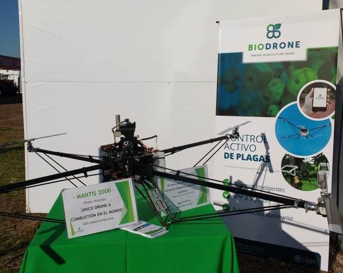 Primer prototipo de drone a combustión del mundo