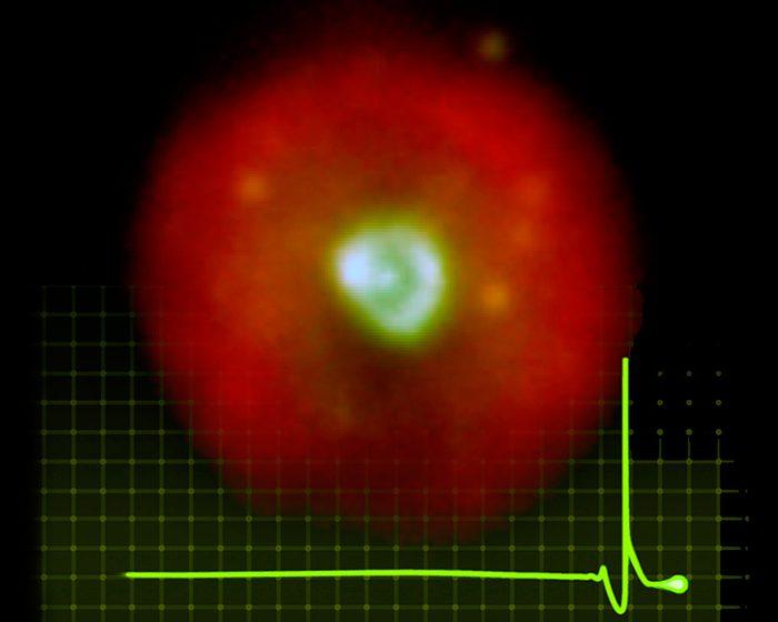 Una estrella zombie dio origen a una nebulosa planetaria invertida