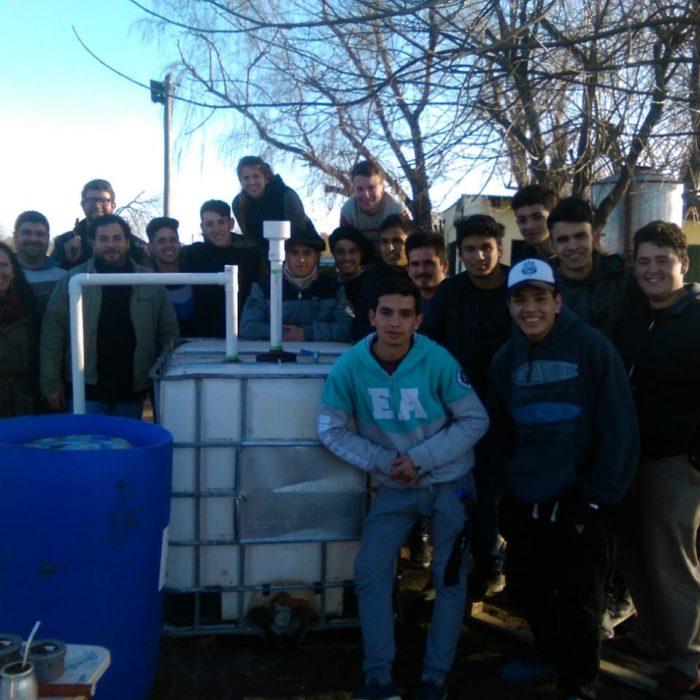 Crece la construcción de biodigestores en escuelas rurales de la provincia de Buenos Aires