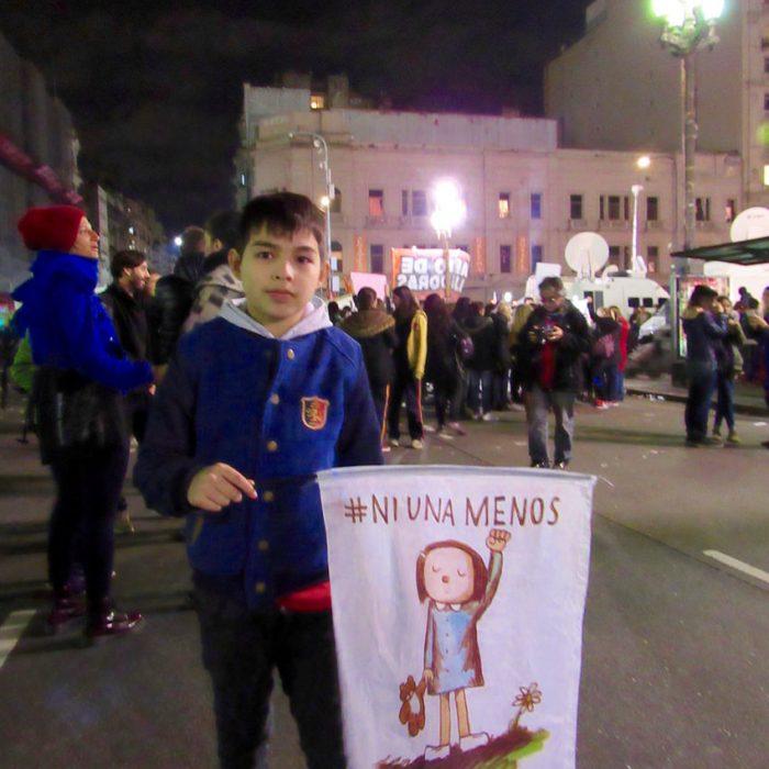 225 femicidios fueron contabilizados desde el 1 de enero y el 31 de octubre en Argentina