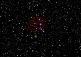 Logran captar el choque de dos chorros de gas durante la formación de estrellas