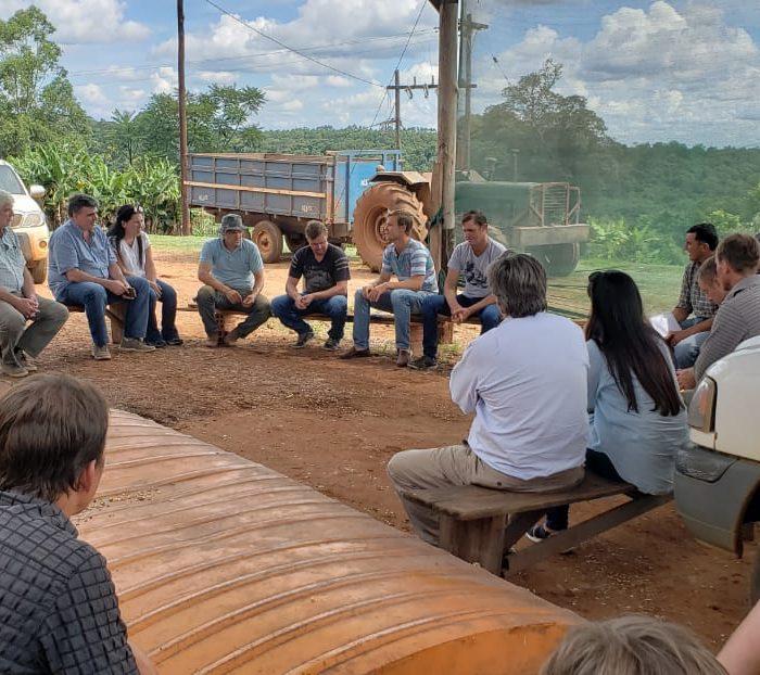 Cultivo de maíz de alta tecnología en la provincia de Misiones