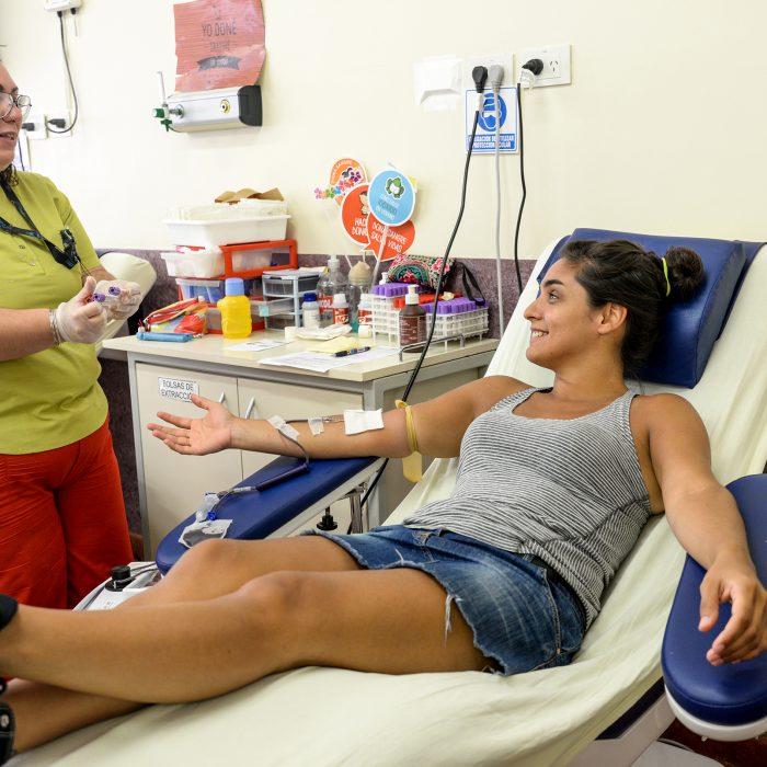 Garrahan convoca a donantes voluntarios para cubrir el stock de sangre por los feriados de abril