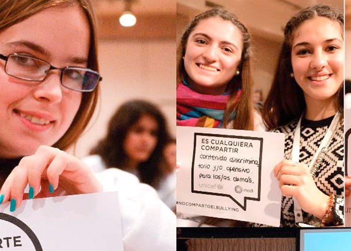 Campaña de concientización contra el ciberbullying