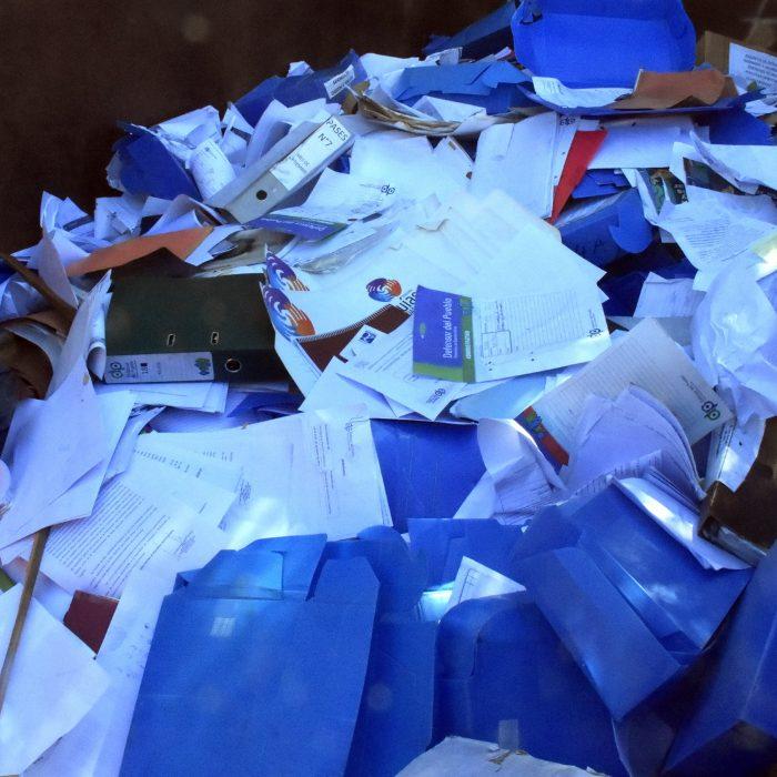 Donación al Hospital de Niños: más de 2 toneladas de papel