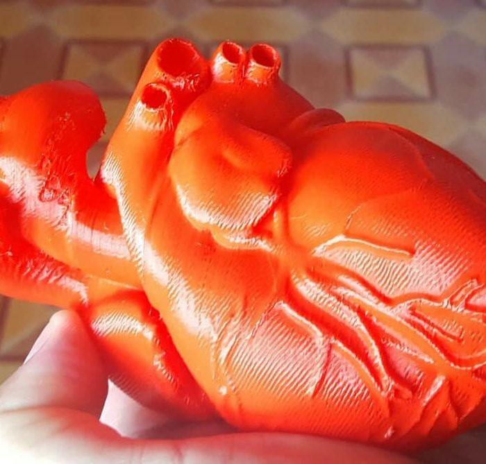 Impresión 3D: Con el corazón en las manos