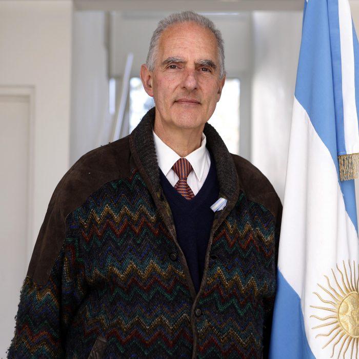 La primera bandera argentina fue azul y blanca