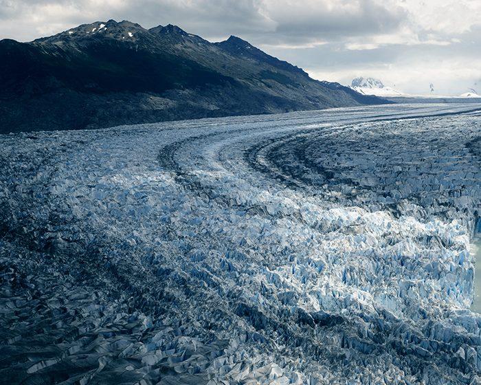 Las capas de hielo de la Patagonia son más profundas de lo que se pensaba