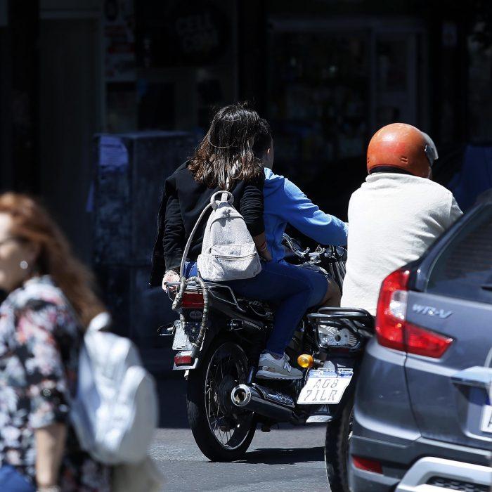 Desarrollan un sistema para detectar motociclistas sin casco