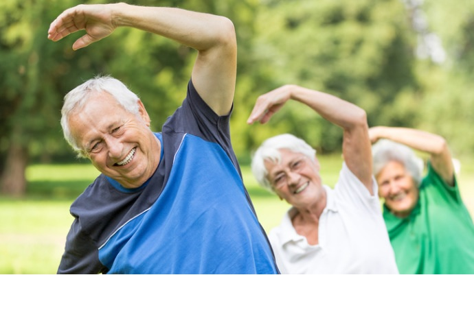 """Los hábitos saludables extienden la vida libre de enfermedades """"hasta por una década"""""""