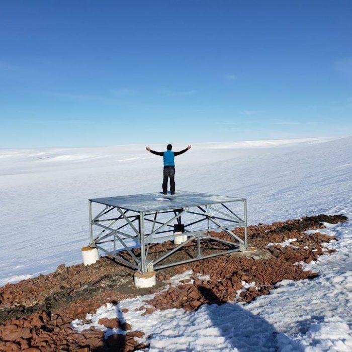 UNAHUR instala un observatorio robótico en la Antártida