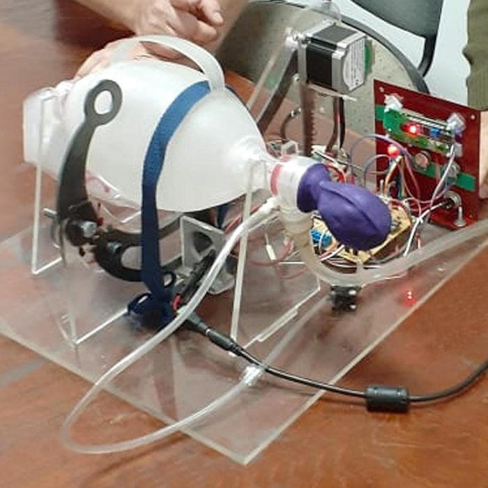 El INTI trabaja en el desarrollo de un respirador de bajo costo