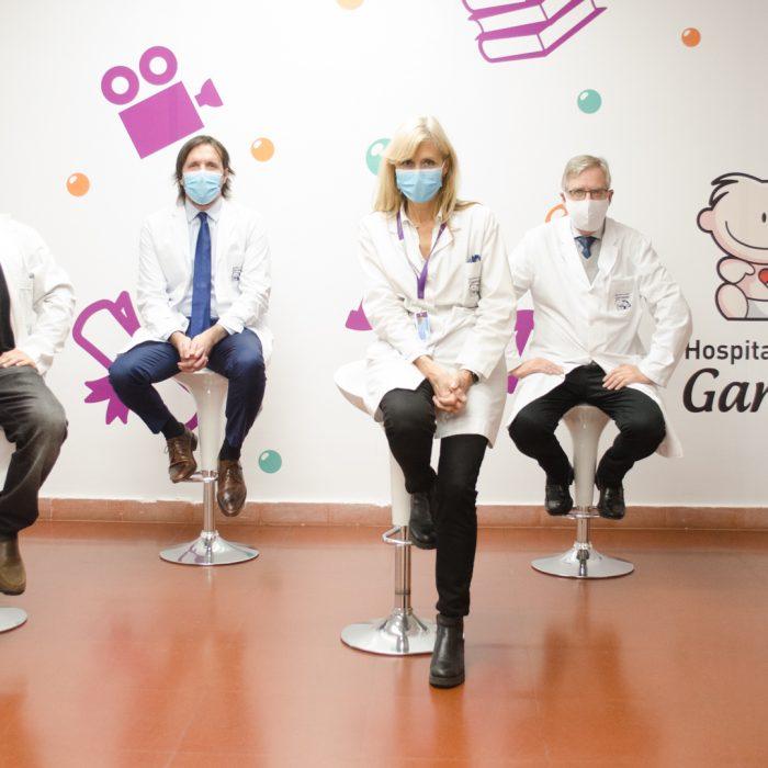 El hospital Garrahan realizó un total de 10 trasplantes de órganos durante la pandemia
