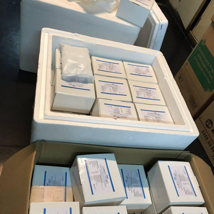 Se realizaron 100.000 ensayos con el test argentino para detectar anticuerpos en el plasma