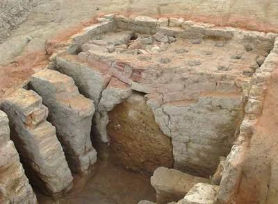 Hallan varios hornos romanos y un gran muro del período tardío