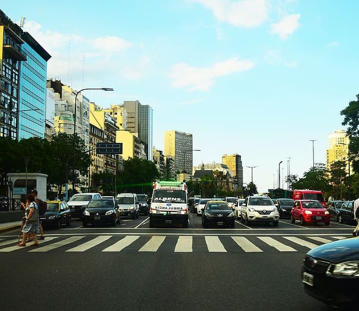Nueve de cada 10 conductores no otorgan la prioridad al peatón en la Ciudad de Buenos Aires