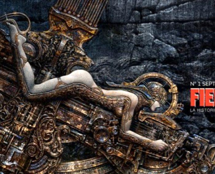 Vuelven a publicar la mítica Revista Fierro, ahora en formato virtual