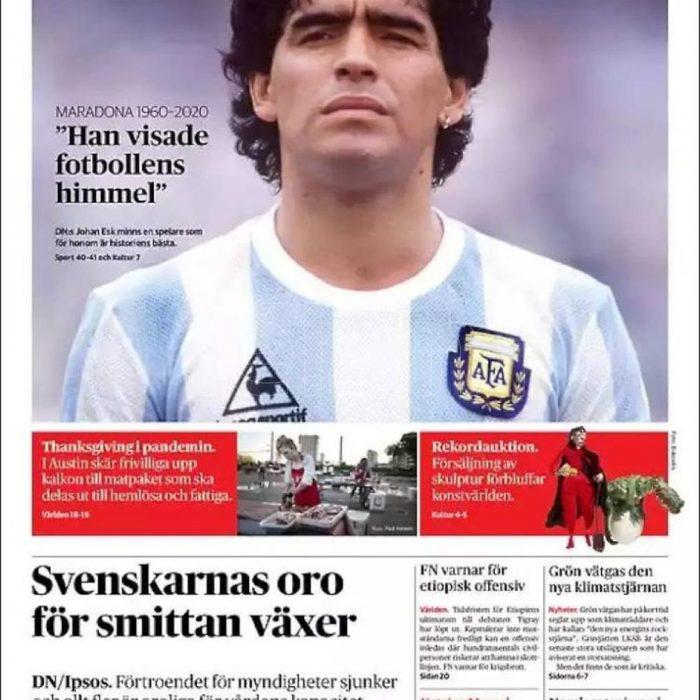 """""""No imaginaba tener que contar la muerte de Maradona"""""""