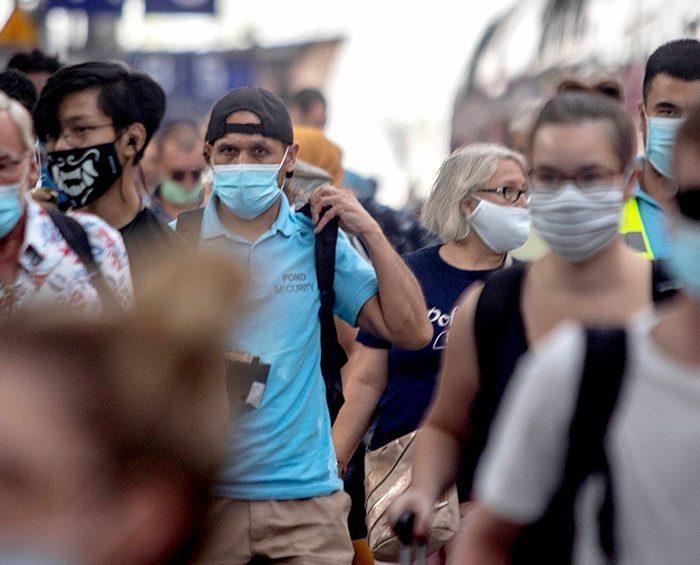 """El 59% de los nuevos casos de coronavirus se explican por """"transmisión asintomática"""""""