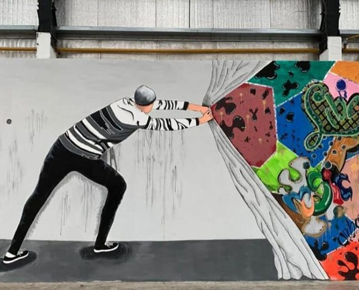 Un concurso de muralismo que llevó color a las cárceles