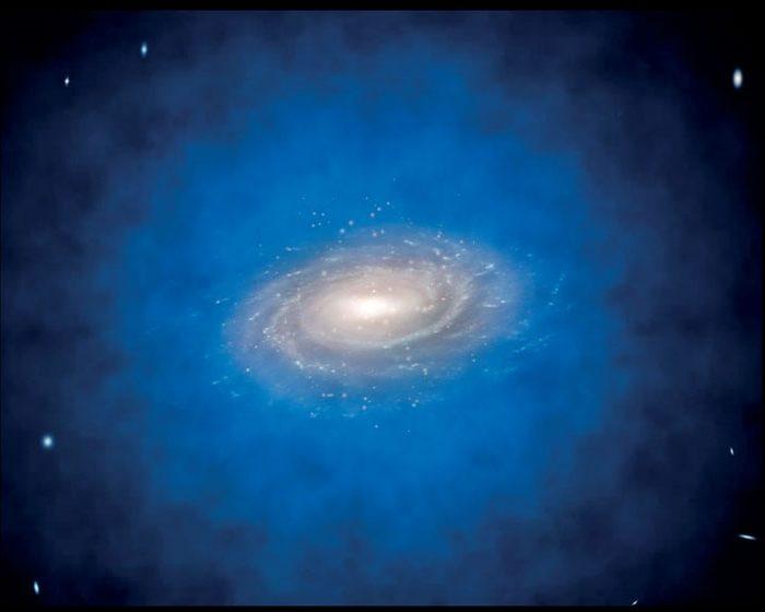 Un estudio sugiere que los agujeros negros supermasivos podrían haberse generado a partir de materia oscura