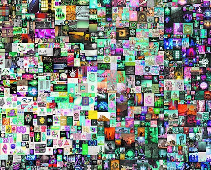 Arte digital: un collage de Beeple marca récord de ventas y supera los U$S 69 millones