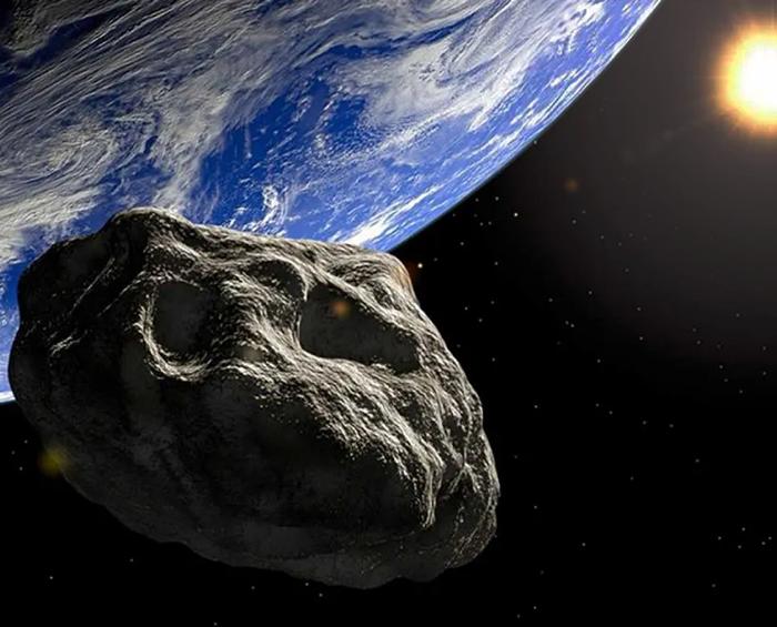 Uno de los mayores asteroides registrados pasó cerca de la Tierra