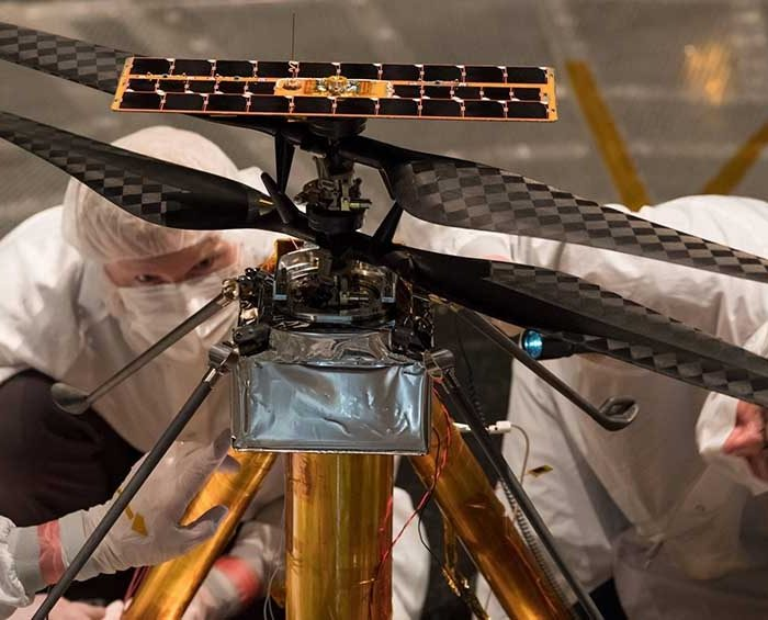 La NASA intentará en abril concretar el primer vuelo de un helicóptero motorizado en Marte