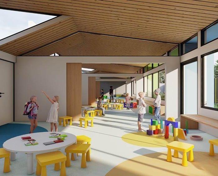 Así serán las primeras escuelas pospandémicas del país diseñadas y construidas en Santa Fe