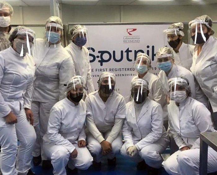 Producción local del componente 2 de la Sputnik V: Cómo es el proceso que se realiza en Argentina