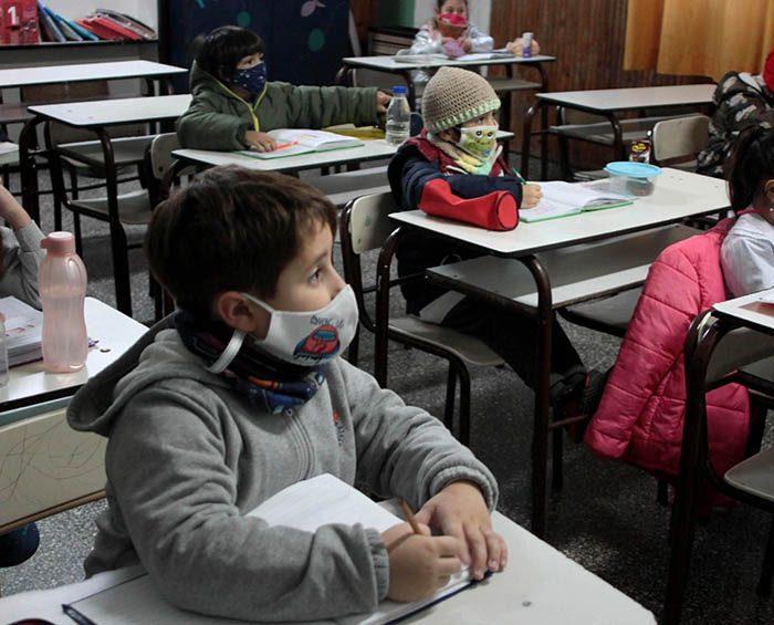 Según Unicef hay un fuerte aumento de la presencialidad escolar, con disparidades entre regiones