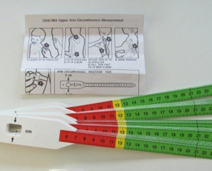 Distribuyen en la Argentina una innovadora cinta que permite medir malnutrición en niños