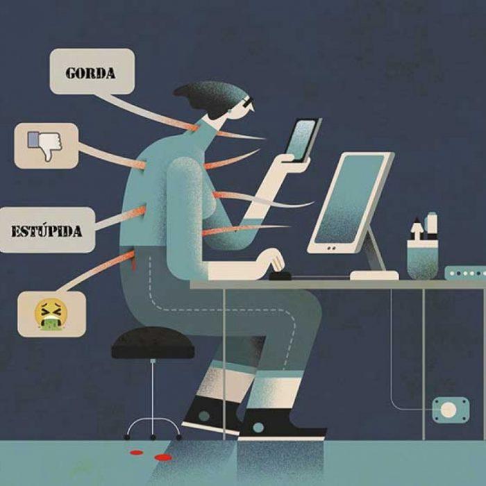 Cómo se organiza la violencia de género en las redes sociales